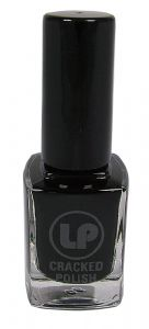 <b>Cracked Nail Polish by Laura Paige - Black</b>
